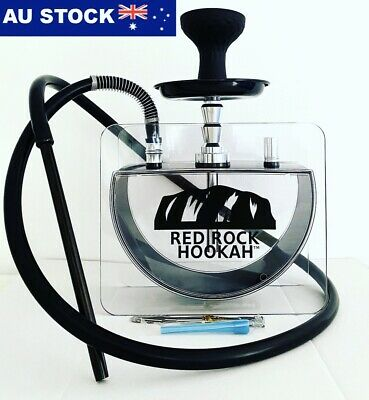 Table Top Acrylic Hookah Shisha Argileh | Just Black