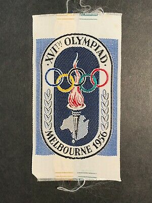collectable MELBOURNE Olympic Games 1956- CLOTH BADGE XVI  Olympiad