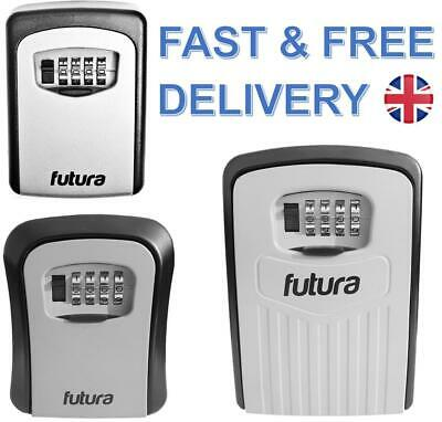 Futura Wall Mounted Key Safe Box Secure Lock Safety Security Outdoor Storage