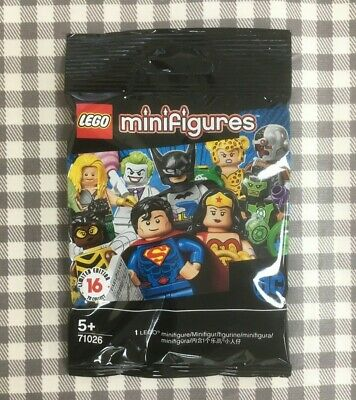 Lego dc super heroes minifigures unopened sealed choose select your minifigure