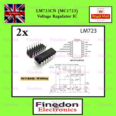 LM723CN (MC1723) Voltage Regulator IC UK Seller