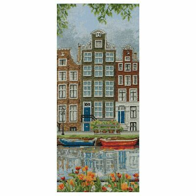 ANCHOR | Counted Cross Stitch Kit: Amsterdam Scene - Wall Hanging | PCE0814