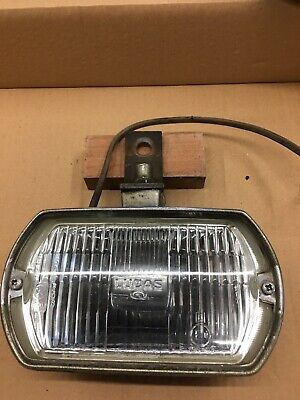 lucas square 8 Fog Lamp Used With Cover And Bracket
