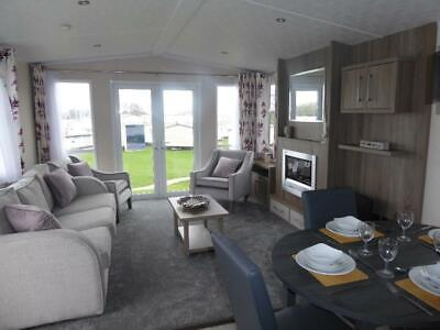 High spec brand new holiday home static caravan on isle of wight