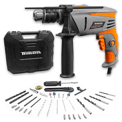 Electric Corded Hammer Impact Power Drill Terratek - Choice Available