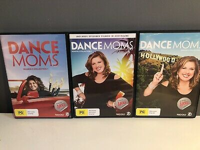 Dance Moms Dvds Season 5, Collection 1, 2 & 3, Great Condition