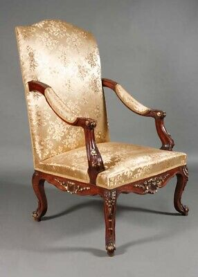 Classic Baroque Chair in Louis Quinze Style