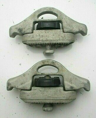 Nissan Navara D40 Load Tie Down Cleats 2x Load Clamps for Load Liner Rails