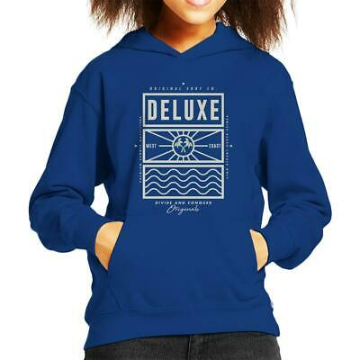 Divide & Conquer Deluxe Surf Co Kid's Hooded Sweatshirt