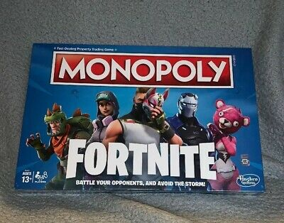Fortnite Edition Monopoly Board Game Sealed IN HAND NEW Christmas Gift (LIMITED)