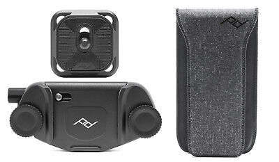 Peak Design Capture Clip V3 Black Incl. Standard Plate and pro Pad for Belt