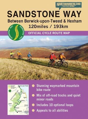 Liddle, Ted-Sandstone Way Cycle Route Map - Northumberland NUEVO