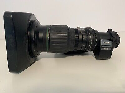 Canon HJ14eX4.3B IRSE S 2/3'' B4 mount HD SuperWIDE angle lens A+