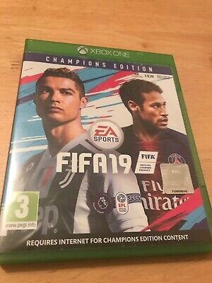 FIFA 19 Champions Edition Xbox One Game Football EA SPORTS VERY GOOD CONDITION