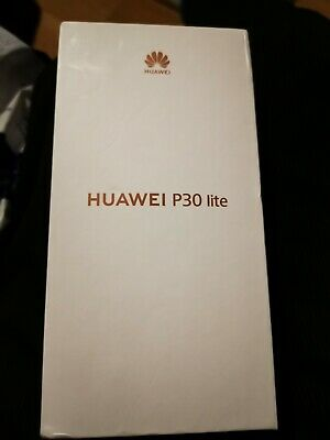 "New Huawei P30 Lite 6.15"" (EE) Smartphone, 4GB RAM, 128GB Storage Midnight Blac"