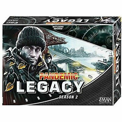 Z-Man Games Pandemic: Legacy Season 2 (Black Edition) Board Games
