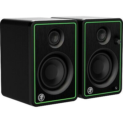 """Fostex PM03G 3/"""" Studio Recording Monitors with 1//8/"""" Headphone to RCA Y cable"""