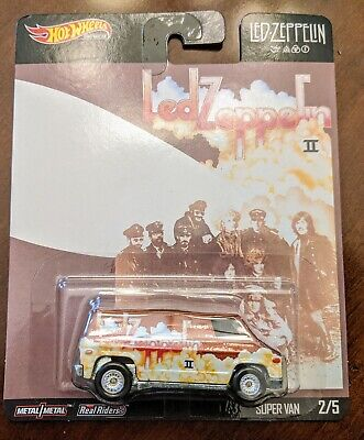 2020 Hot Wheels Premium Pop Culture Led Zeppelin Ii Super Van Realriders 2019