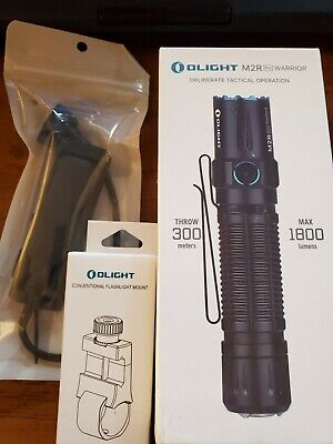 Olight M2R Pro Warrior Weapon light Bundle Black BNIB