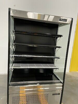 "Titan 50"" Air Curtain Refrigerayor Merchandiser"