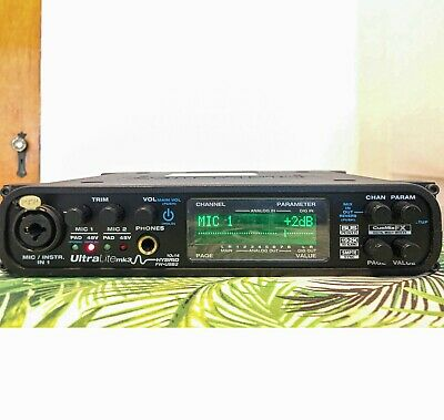 MOTU Ultralite Mk3 Hybrid USB Firewire Audio Interface