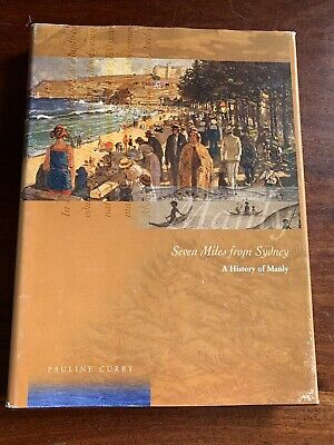 """Manly NSW AUS """"Seven Miles From Sydney"""" Book, Ferry Book And Framed Poster"""