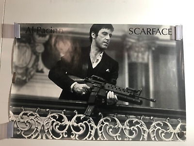 D-162 New Scarface Al Pacino Sunset Scene 27x40IN fabric Art Poster