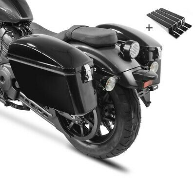 Side Case Dallas with Mount Set for Triumph Thunderbird Storm