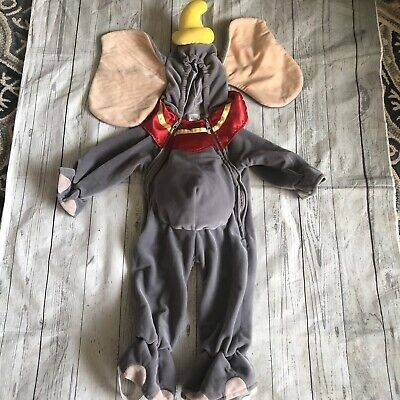 Disney Store DUMBO Costume 6-12 Months Elephant Baby Toddler Child Halloween