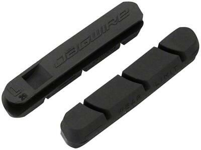 Jagwire Sleek Pro S Road Brake Inserts-Pair-Black-Carbon Specific Compound