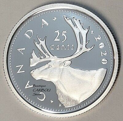 2020 Canada Silver Proof 25 Cents
