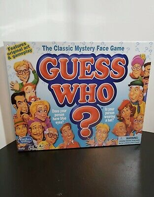Guess who board game The Classic Mystery Face Game