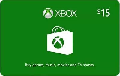 $5 $10 $15 Xbox Gift Card *No Expiration*Fast E Delivery*Brand New*USA Only