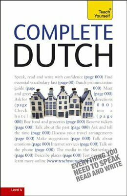 COMPLETE DUTCH: A TEACH YOURSELF GUIDE (TY: LANGUAGE By Dennis Strik *Excellent*