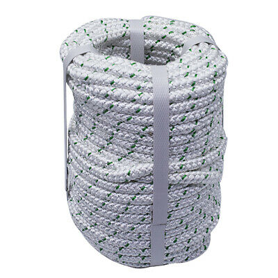 70 feet NEW Double Braid Rope 3//8 4800Lbs BREAKING STRENGTH NEW 2018 Stock
