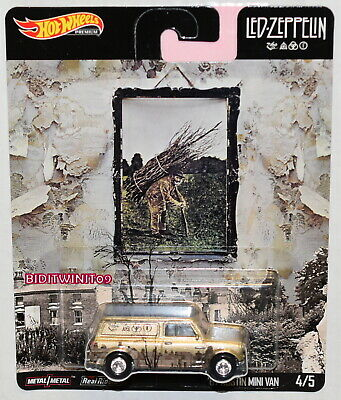 Hot Wheels 2019 Pop Culture Led-Zeppelin '67 Austin Mini Van 4/5