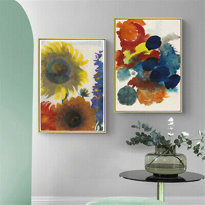CHOP1321 handmade painted sunflowers oil painting abstract art on canvas
