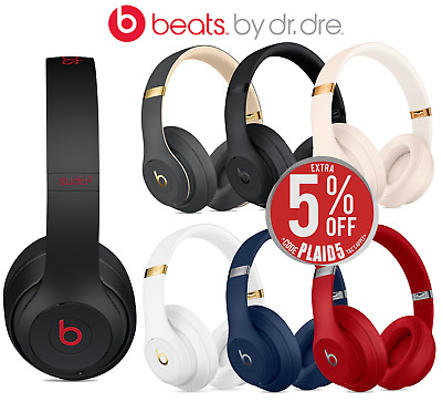 Beats by Dre Studio3 Wireless Over-Ear Headphones - In Box - (7 Colours) Express