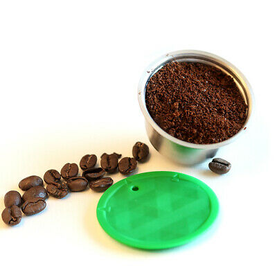 Refillable Coffee Capsule Cup For Dolce Gusto Nescafe Reusable Filter Pod SUPER