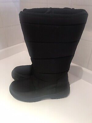 Womens Long Insulated Snow Moon Boots Size 7 Mountain Warehouse Fleece Lined