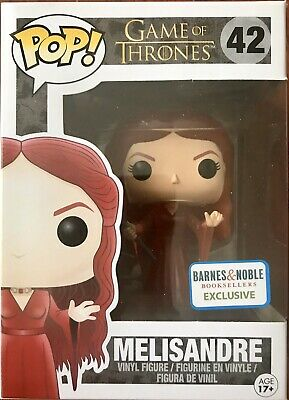 MIB Barnes Noble Exclusive Game Of Thrones Translucent Melisandre Funko Pop!