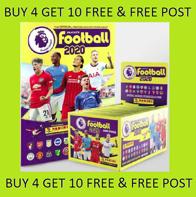 Panini Football 2020 Premier League Stickers BUY 4=10 FREE 1-250 FREE POST SHINY