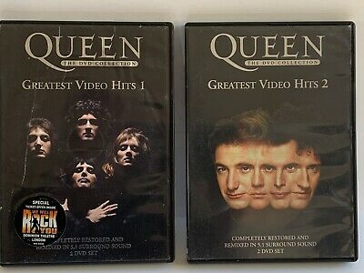 Queen Greatest Video Hits 1 and 2 DVD