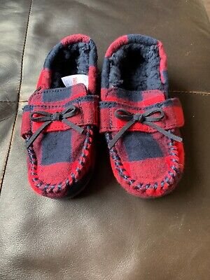 Boys Next Loafer Slippers Size 8 Brand New Without Tags