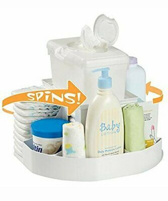 Dexbaby The Spin Diaper Changing StationBaby Nappy StackerOrganiser
