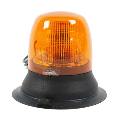 Britax B54 Magnetic Mount LED Agriculture Strobe Flashing Amber Beacon