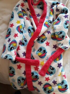 my little pony dressing gown age 4/5yrs