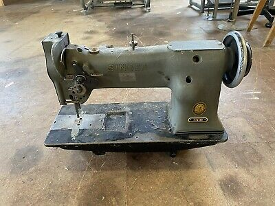 Singer 111G155 Tripple Feed Industrial Walking Foot Sewing Machine FOR LEATHER,