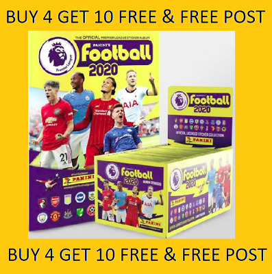 Panini Football 2020 Premier League Stickers BUY 4 GET 10 FREE 341-636 FREE POST