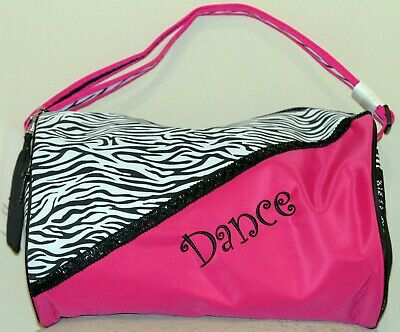 Sassi Designs Girls RedGymnastic Fully Lined Small Roll Dance Duffel